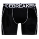 Icebreaker Anatomica Zone Boxers Men black/white